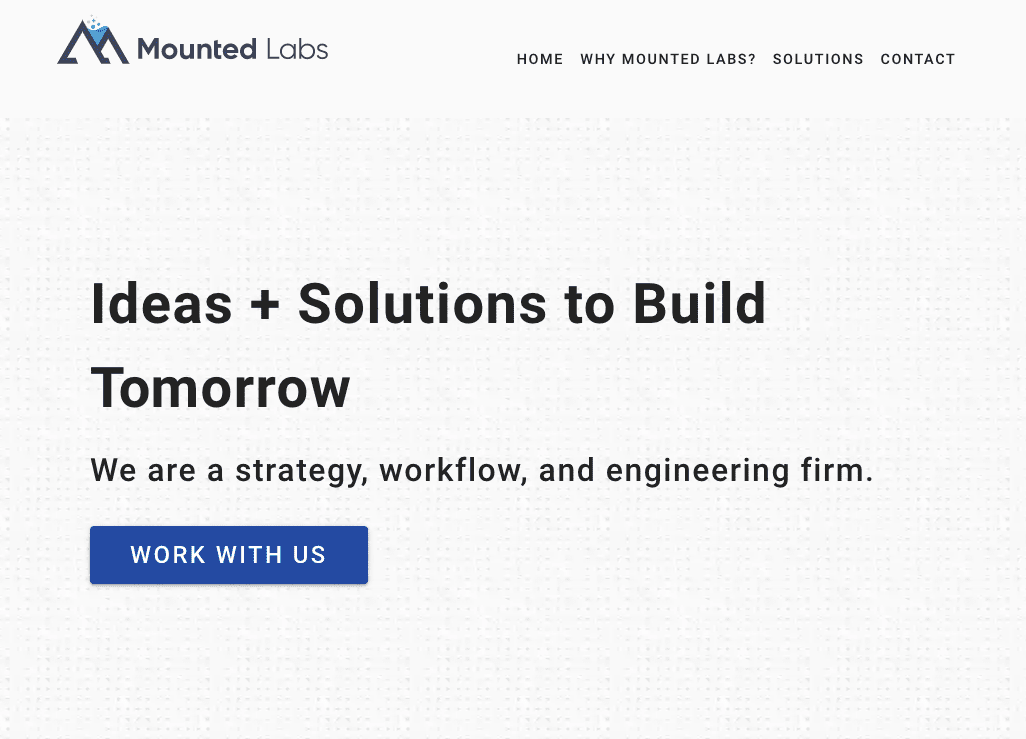 Mounted Labs Website
